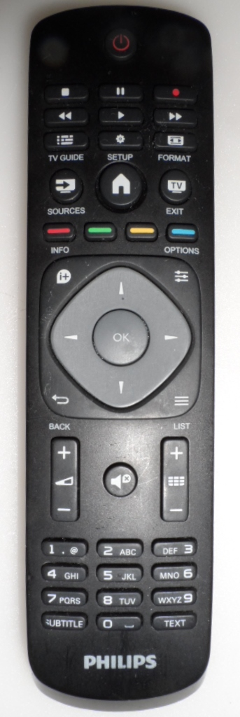 RC/PH/40PFT4201 ORIGINAL  REMOTE CONTROL  for PHILIPS 40PFT4201
