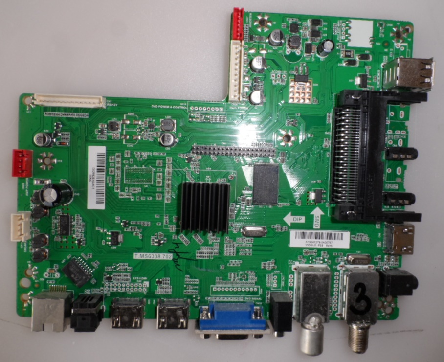 MB/T.MS6308.702/SHARP/50CFE5102 MAIN BOARD ,T.MS6308.702, for SHARP LC-50CFE5102E
