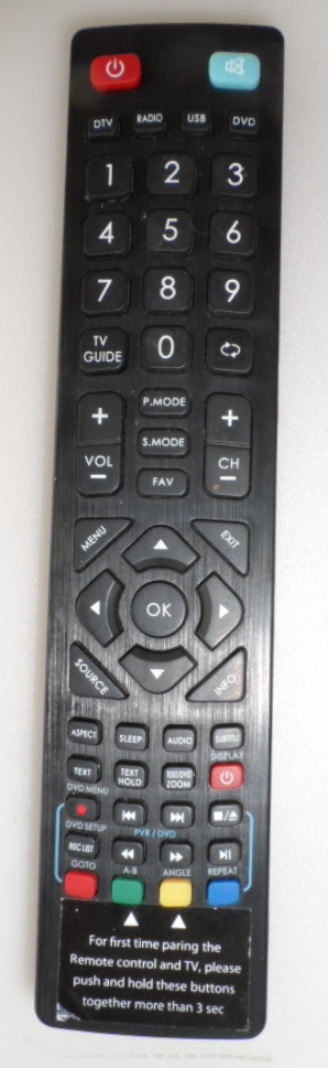 RC/SHARP/RADIO/4 ORIGINAL REMOTE CONTROL for SHARP AQUOS  ,LC-50CFE5102E,