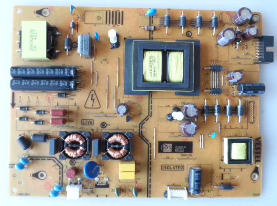17IPS72/43INC/JVC/UHD POWER BOARD ,17IPS72, for 43 inc DISPLAY ,27997539,23404977,