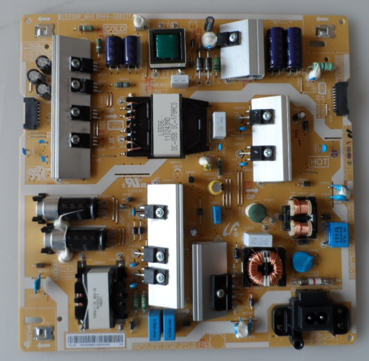 PB/BN44-00807F/SAM/49MU6105 POWER BOARD,BN44-00807F, L55S6R_MHS,for, SAMSUNG UE49MU6105,